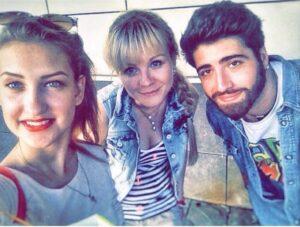 Инна Марфичева с друзьями