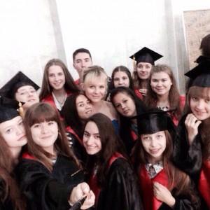 Инна Марфичева с учениками