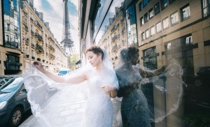 Наталья Русинова. Фото со свадебного путешествия. Париж.