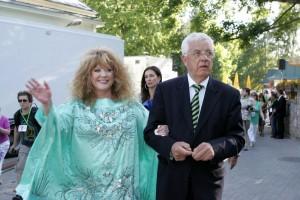 Алла Пугачева и Раймонд Паулс