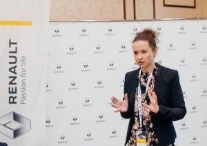Наталья Русинова. Олимпиада Рено