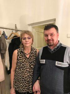 Татьяна Лебедева и Вадим Грачев