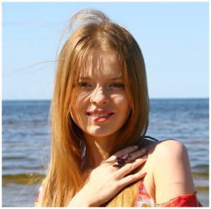 Певица Елена Князева, отдых в Тайланде