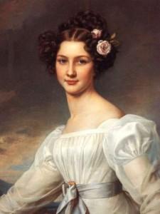 Баронесса Амалия фон Крюденер, 1827 г. Портрет одной из красивейших женщин своего времени.