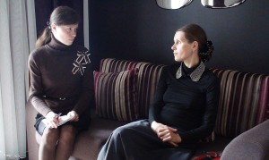 Журналист Светлана Фатьянова и певица Светлана Копылова