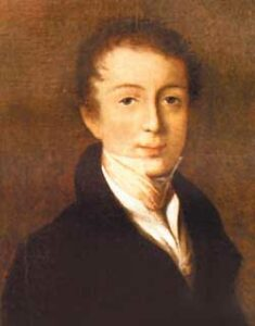 Фёдор Иванович Тютчев. 1823 год.