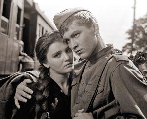 """Кадр из фильма """"Баллада о солдате"""""""
