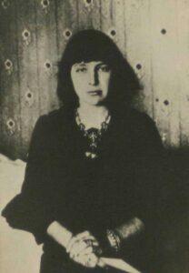 Поэтесса Марина Цветаева. 1914 год.