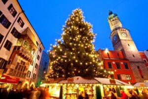 Словакия. Рождество.