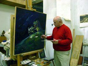 В. Джанибеков - художник