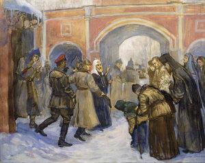 Арест патриарха Тихона. Филипп Москвитин