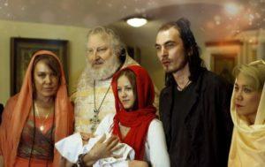 Азиза, отец Николай и семья Игоря Талькова-младшего