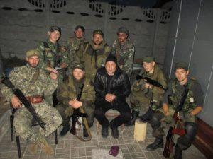Писатель Захар Прилепин. Донбасс.