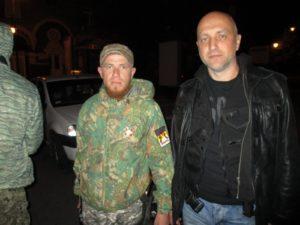 Моторола и писатель Захар Прилепин. Донбасс.