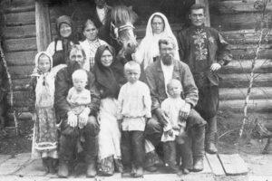 Семья крестьянина Савина Симонова