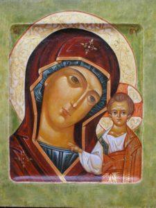 Казанская икона Божьей Матери.