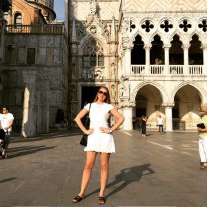 Певица Варвара. Италия.