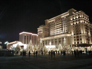 Москва. Новогодние елки