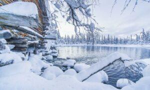 Озеро в Финляндии