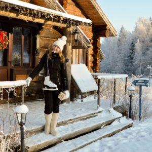 Певица Варвара, дом, Новый год