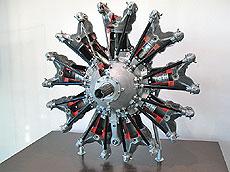 Аэродвигатель BMW 132