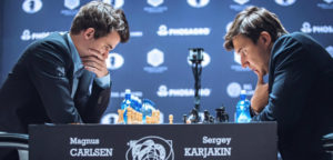 Шахматисты Карлсен, Карякин