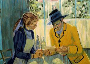 Кадр из фильма «Ван Гог. С любовью, Винсент!»