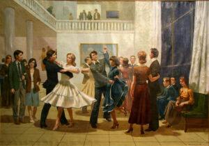 Танцы советской молодежи