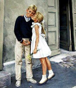 Первый поцелуй, первая любовь