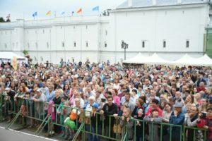 """Международный фестиваль народных промыслов """"Город ремесел"""", Вологда."""