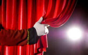 Театр, занавес