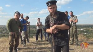 Денис Антипов, атаман артели кулачных бойцов «Буза» из Череповца.