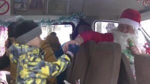 Волшебный автобус «Merry Christmas», Рождество