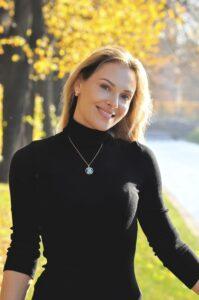 Актриса Ольга Фадеева, иностранный язык
