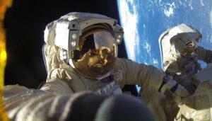 Космонавт Александр Мисуркин, работа в космосе