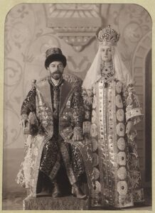 Император Николай II и императрица Александра