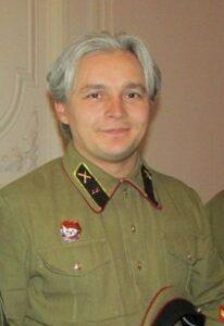 Сергей Зыков в военной форме