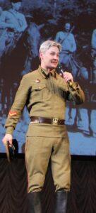Сергей Зыков. Во время концерта