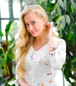 Телеведущая Вероника Иващенко