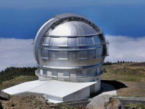 Главный телескоп «Grand Тelescopio Kanaria»