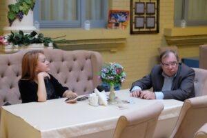 Представитель ООО «Курортное управление» Кисловодска Эвелина Валуйска и Виктор Мирошниченко.