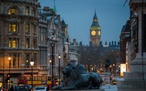 Лондон, осень
