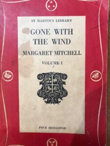 "Книга ""Gone with the wind"""