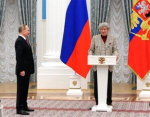 Владимир Путин и Юрий Энтин
