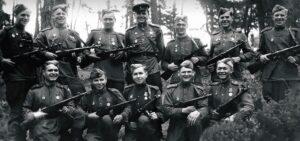 Взвод Советской Красной Армии