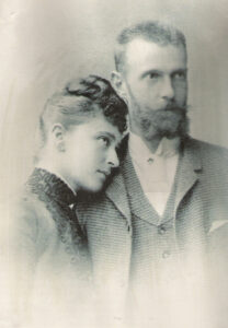 Великая княгиня Елизавета Федоровна с мужем Великим князем Сергеем Александровичем.