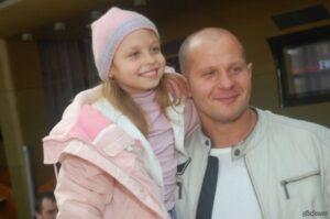Фёдор Емельяненко с дочкой