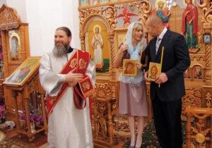 Фёдор Емельяненко с супругой