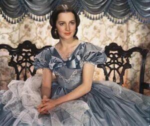 Оливия де Хэвилленд в фильме «Унесённые ветром» (1939)