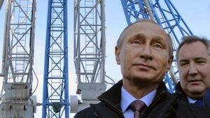 В. В. Путин на космодроме «Восточный»
